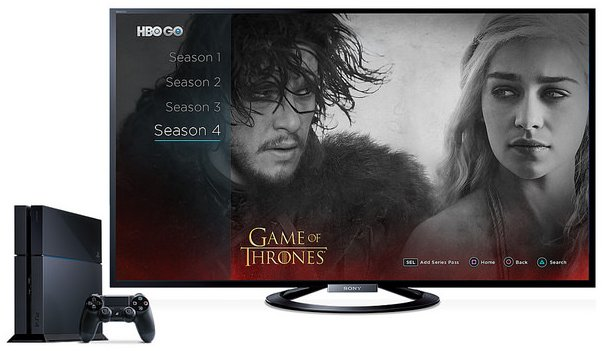 HBO GO on PS4 - Game of thrones