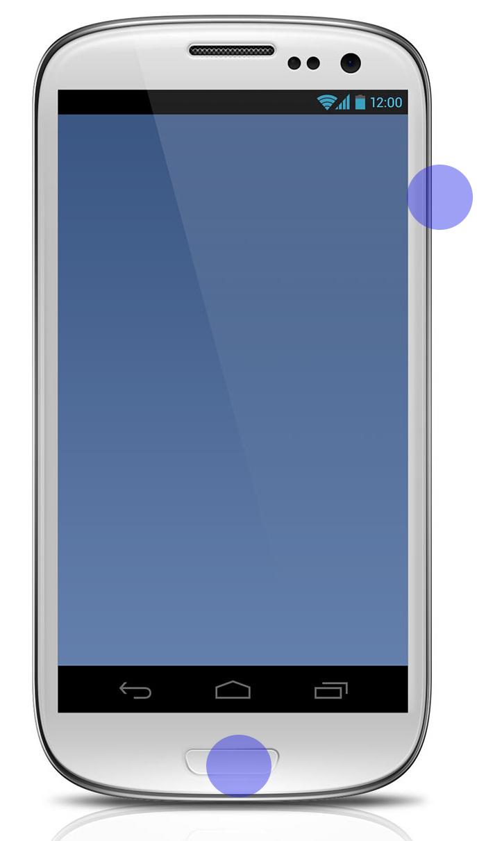 Android Samsung Galaxy screenshot example