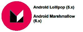 Android Marshmallow / Lollipop