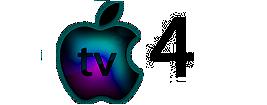 Apple TV 4 logo